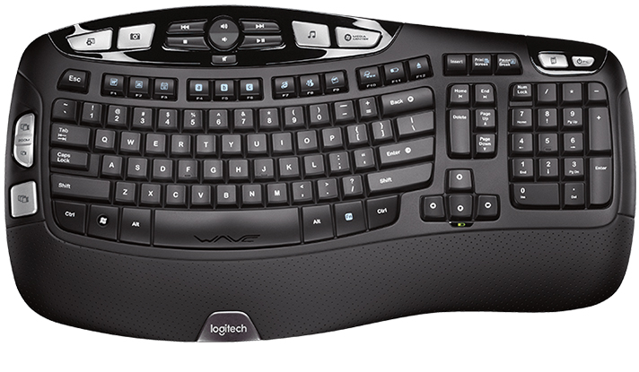 Logitech K350 Keyboard - Best Ergonomic Keyboard Reviews