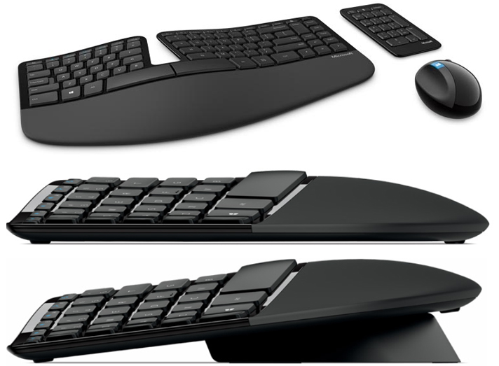 Microsoft Sculpt Keyboard - Best Ergonomic Keyboard Reviews