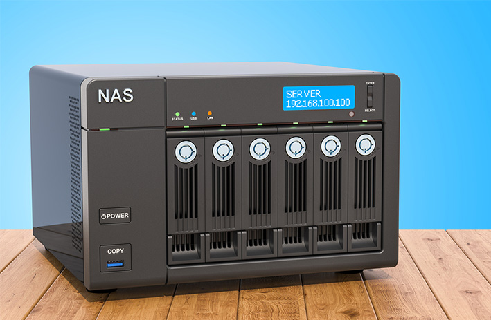 Network attached storage benefits - use a NAS as a media server