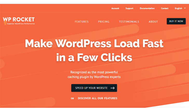 WP Rocket - Best WordPress Performance App