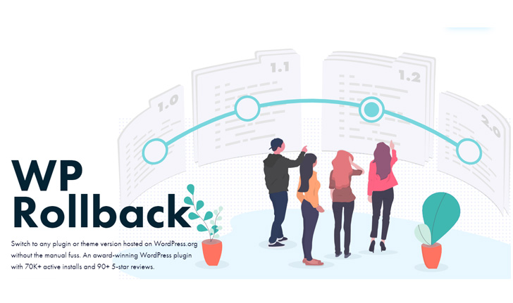 WP Rollback - best wordPress plugin rollback plugin